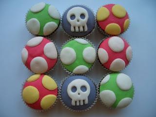 Mario Cupcakes - alicebluebonnet