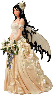 Fairy Bride - Fantasy Wedding Cake Toppers