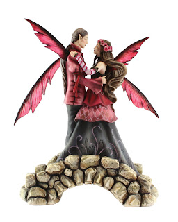 Love Springs Eternal Fantasy Wedding Cake Toppers