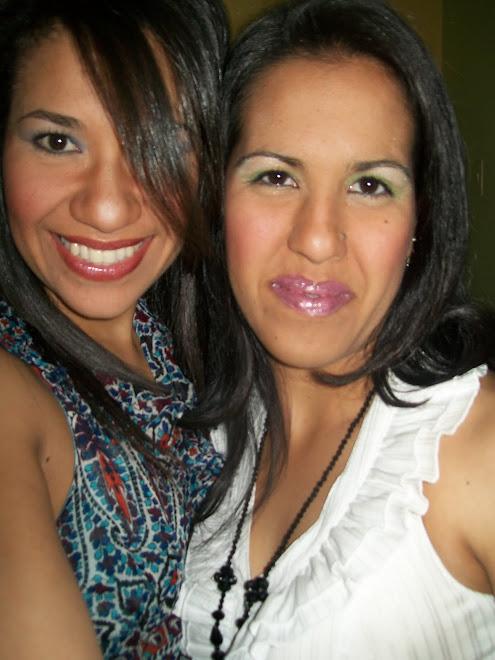 Mi hermana Flor y YO