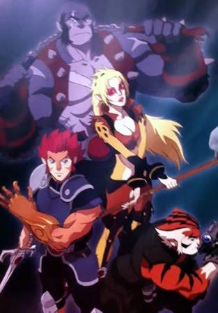 Thundercats Cartoon Network on Imagem Com Os Personagens De  Thundercats  Em Formato De Anime
