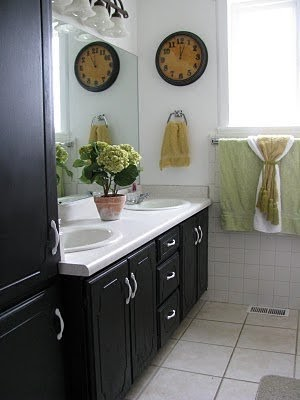 A well loved home quick fix for dated bathrooms for Quick fix bathroom ideas