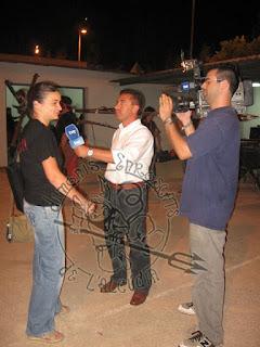 Entrevista de TVE a la Colla La Rosca, abans del correfoc