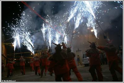 Més de 20 dimonis amb foc pels carrers de l'Alcúdia