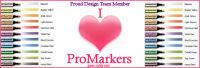 I'm a past member of the I ♥ ProMarkers Design Team
