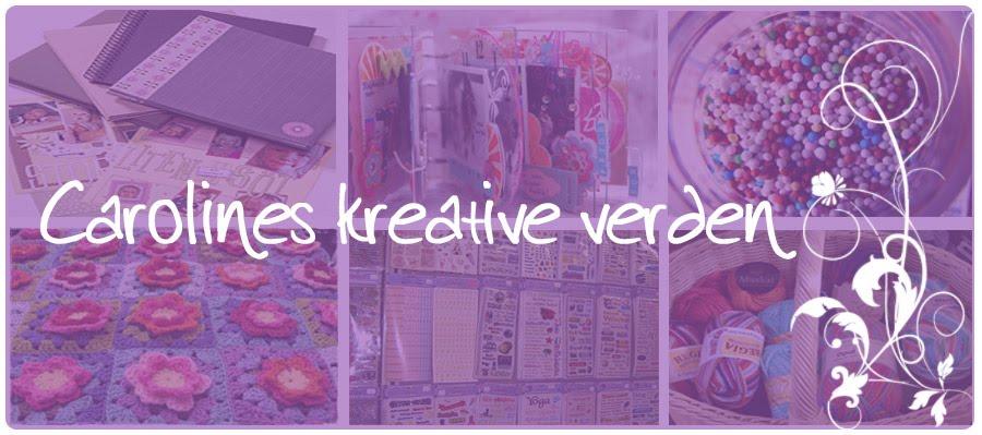 Carolines kreative verden...