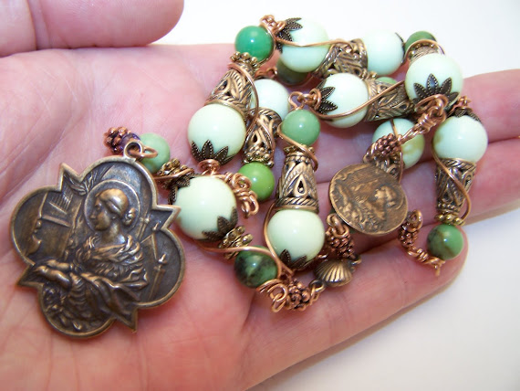 No.77.  NEW- Chaplet of Saint Cecilia,   (SOLD)