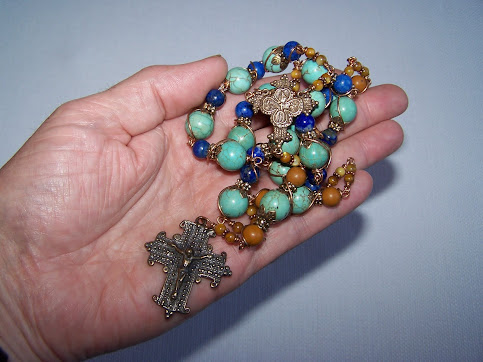 No. 97.  Chaplet Of The Holy Name Of Jesus.  Just finished and getting ready to list on EBAY.....