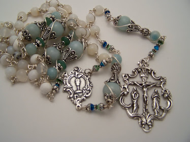 No. 46.  Rosary of The Blessed Virgin Mary & Mary Magdalene