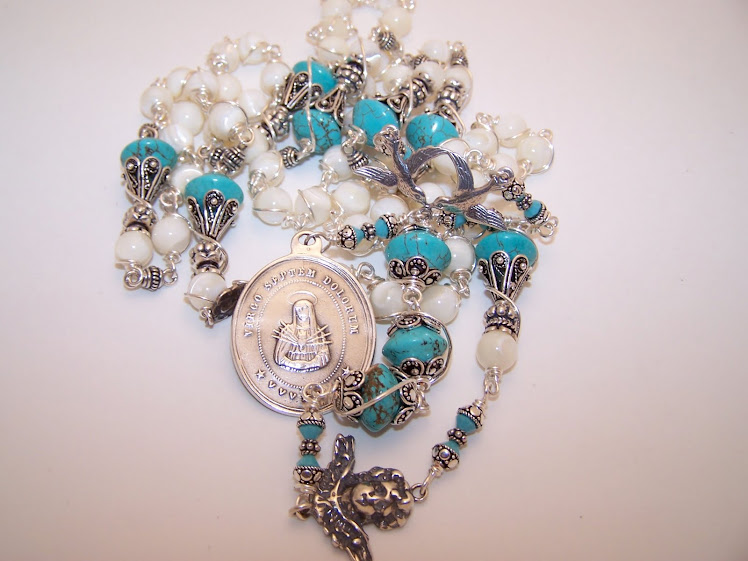 No. 43.  Rosary Chaplet of the Seven Sorrows of Mary