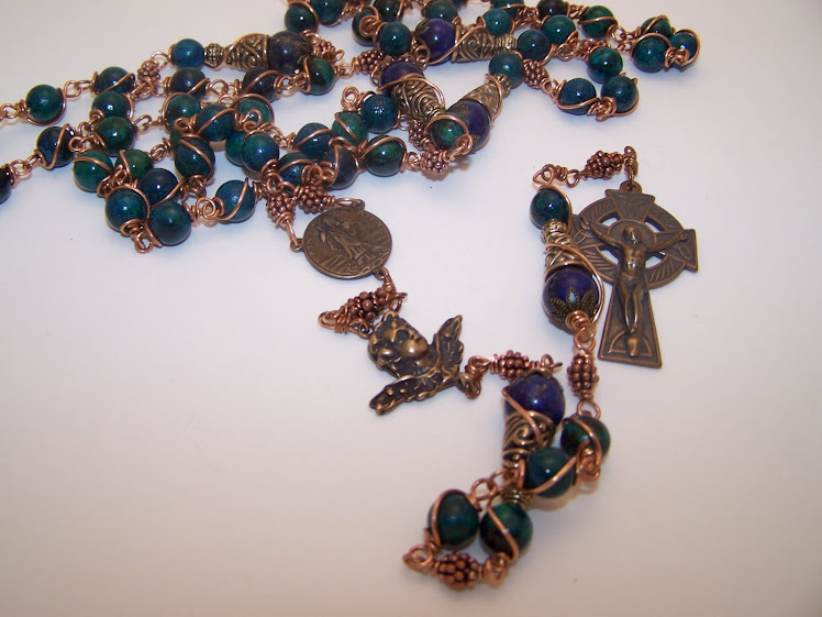 No. 60.  Rosary of St. Patrick (SOLD)