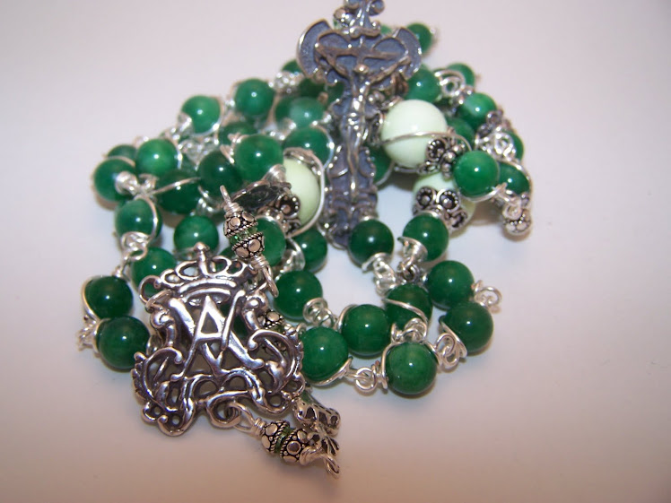 No. 65.  Rosary of the Immaculate Conception (SOLD)