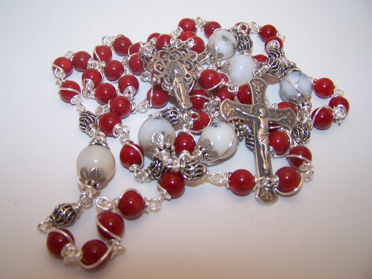 No 62.  Rosary Of The Assumption Of the Virgin Mary into Heaven (SOLD)