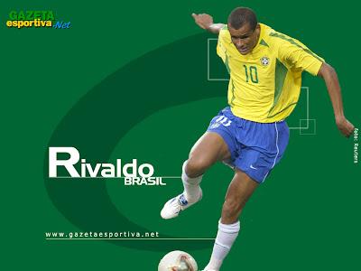 Rivaldo Top Soccer Player Gallery