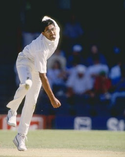 Old photos of Anil Kumble