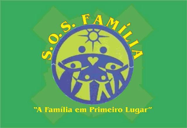 BANDEIRA  S.O.S. FAMÍLIA