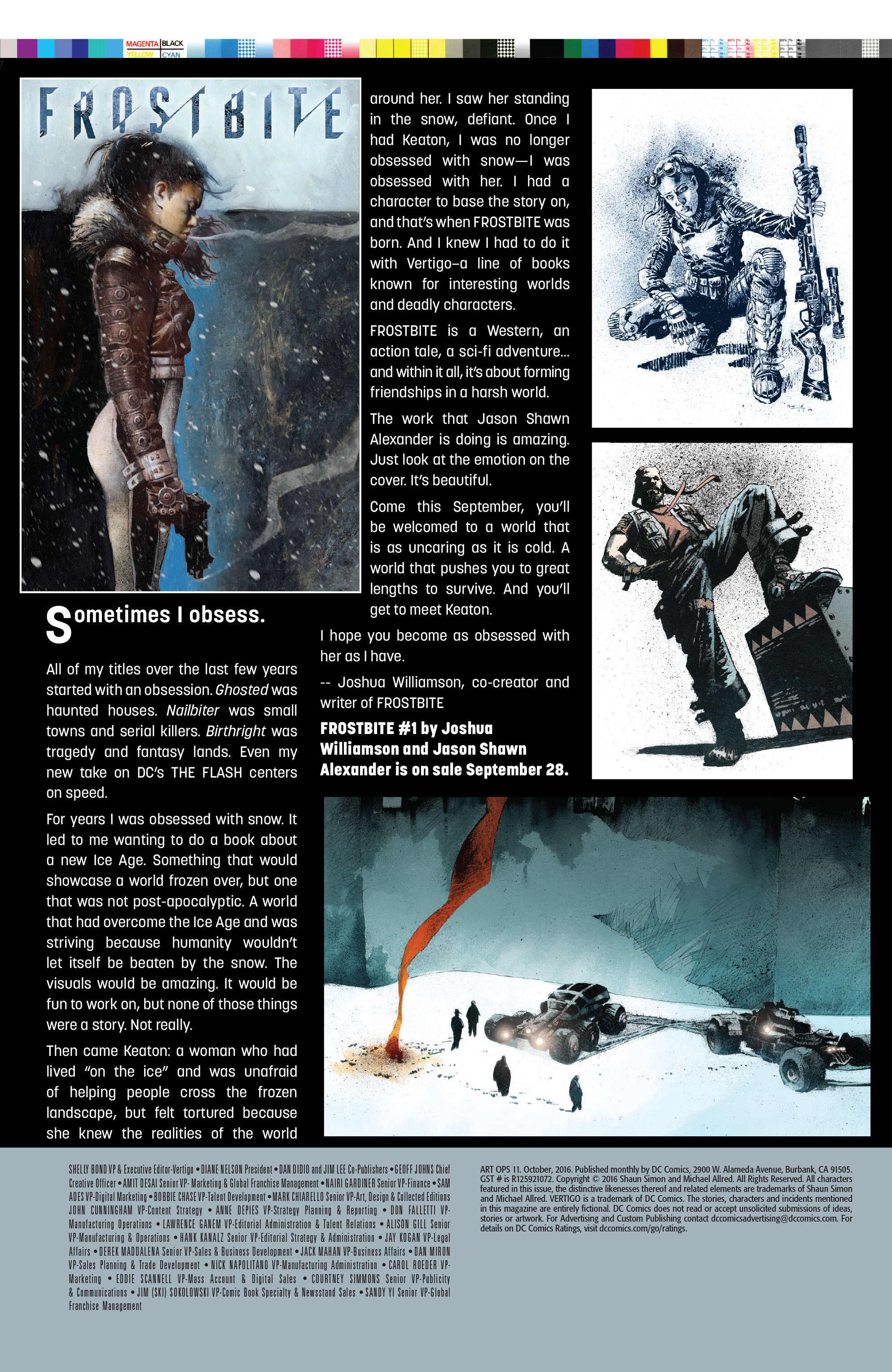 Read online Art Ops comic -  Issue #11 - 22