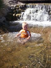 Kickin it in the river!