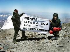 El reclamo llegó a la cima del Aconcagua