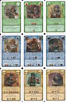 Karty postav - ukázka