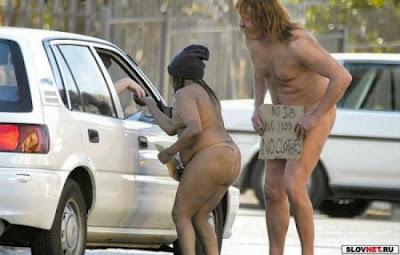 amusing beggars