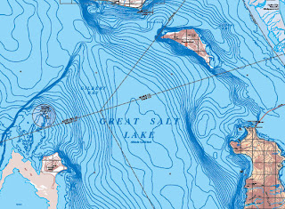 GeoCarta Map of Great Salt Lake Completed