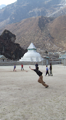 Cricket on Everest