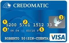 Tarjeta de crédito con un holograma (3)