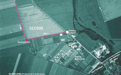 Vista aérea de GEO600
