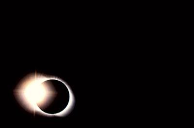 Eclipse de Sol en Bolivia 3/11/94