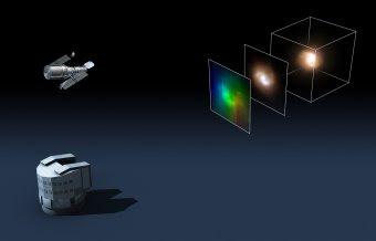Diagrama de las galaxias vistas por Hubble y VLT