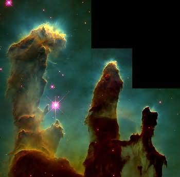 M16 Los pilares de la creación en la Nebulosa del Águila