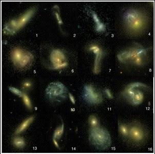 Fusiones de galaxias