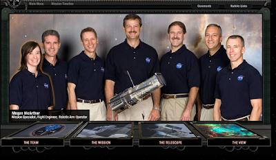 Tripulantes de STS-125