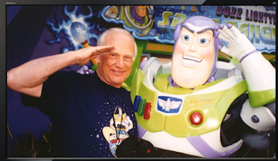 Buzz Aldrin y Buzz Lightyear