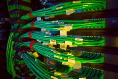 Cables Centro de Computación Grid (GCC) Fermilab
