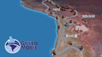Ruta de GalileoMobile