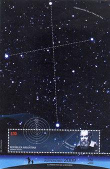 Galileo Galilei y Constelación Cruz del Sur