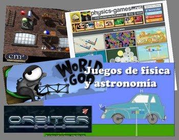 Juegos de física y astronomía