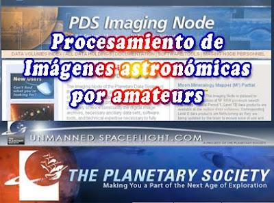 Procesamiento de imágenes astronómicas