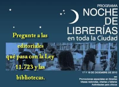 Noche librerías