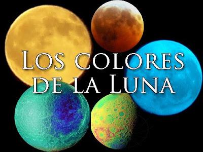 Lunas de colores