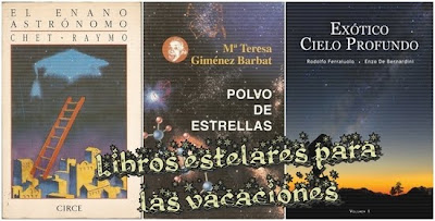 Novelas de astronomía