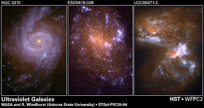 Galaxias Ultravioleta