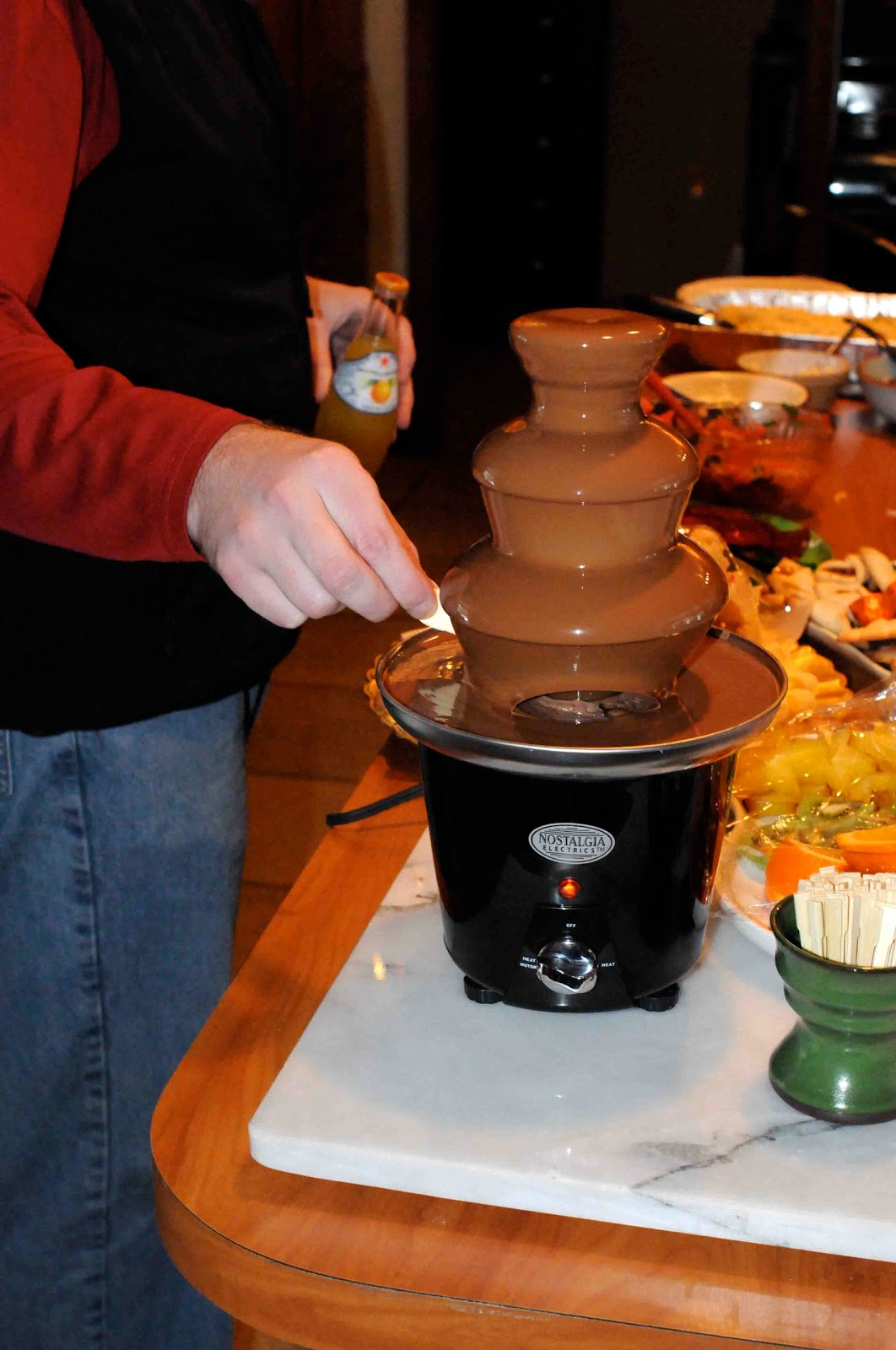 Gonna Stuff a Chicken Chocolate Fountain Ideas and Tips