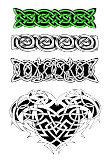 Tribal Armband tattoos art - Design for boys
