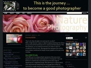 photography blogger templates