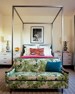 vintage interior bed design