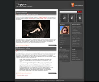 blogger pepper template - adsense pepper template blogspot,template adsense blogger,template desihn  new,theme new blogspot