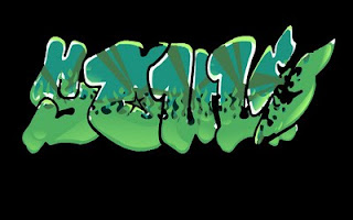 Green hauls graffiti - Alphabet Green style, style alphabet graffiti, fonts green alphabet